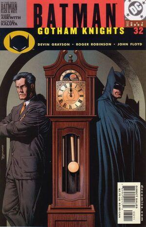 Cover for Batman: Gotham Knights #32 (2002)