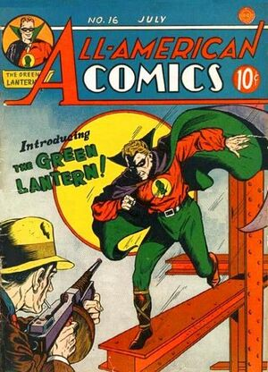 Cover for All-American Comics #16 (1940)