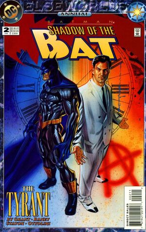 Cover for Batman: Shadow of the Bat Annual #2 (1994)