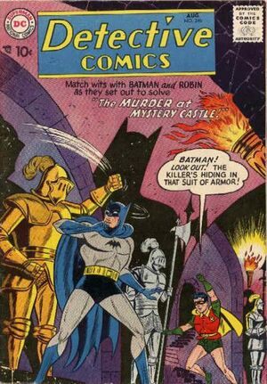 Cover for Detective Comics #246 (1957)
