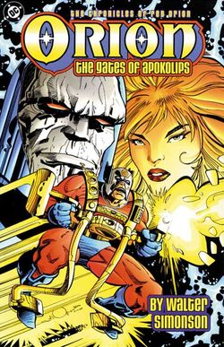 Cover for the Orion: The Gates of Apokolips Trade Paperback