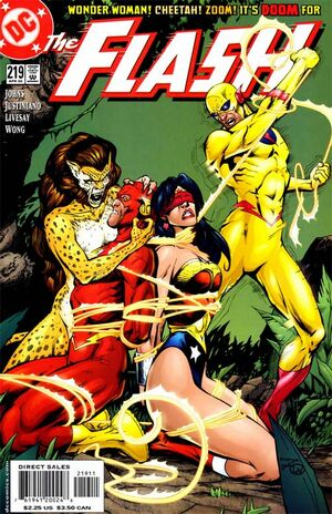 Cover for Flash #219 (2005)