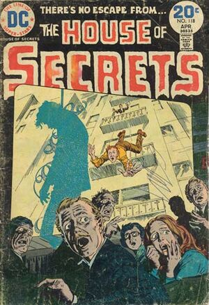 Cover for House of Secrets #118 (1974)
