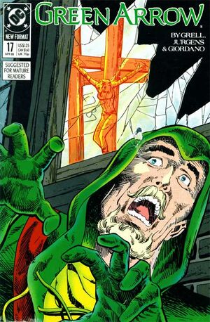 Cover for Green Arrow #17 (1989)