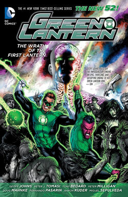 Cover for the Green Lantern: Wrath of the First Lantern Trade Paperback