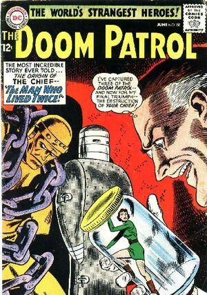 Cover for Doom Patrol #88 (1964)