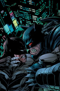 Forever Evil Aftermath Batman vs. Bane Vol 1 1 Textless