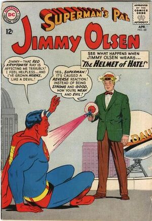 Cover for Superman's Pal, Jimmy Olsen #68 (1963)