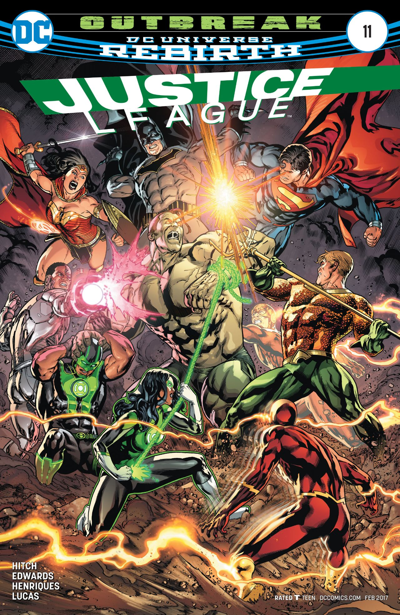 Justice League Vol 3 11 | DC Database | FANDOM powered by ...