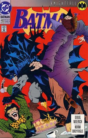 Cover for Batman #492 (1993)
