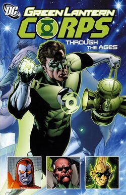 Cover for the Green Lantern Corps: Through The Ages Trade Paperback