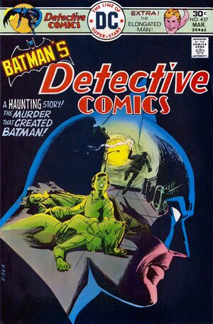 Cover for Detective Comics #457 (1976)