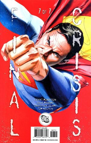 Cover for Final Crisis #7 (2009)