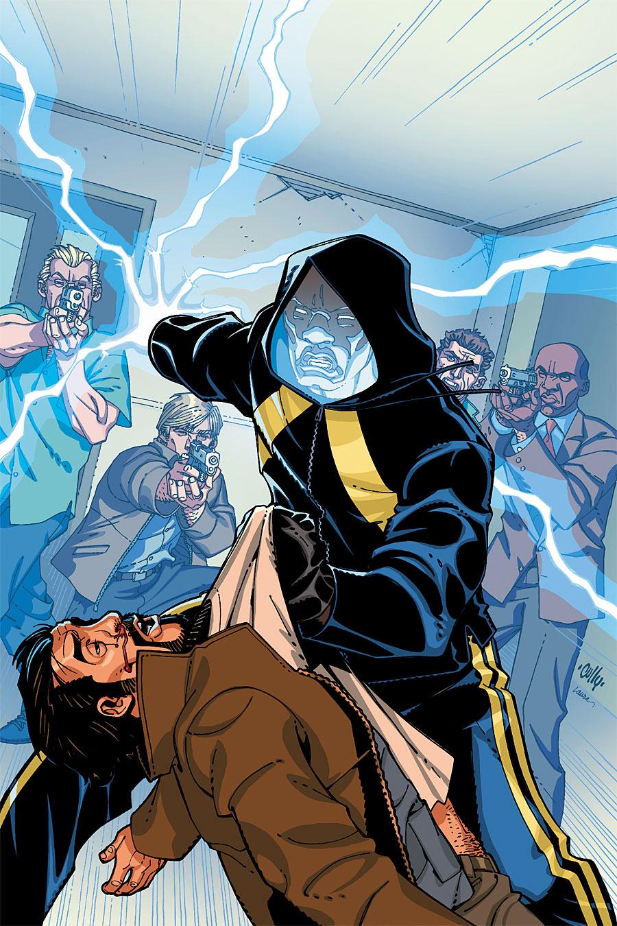 Znalezione obrazy dla zapytania black lightning dc comics