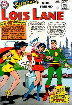 Cover for Superman's Girlfriend, Lois Lane #59 (1965)
