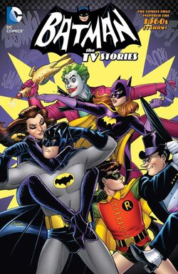 Cover for the Batman '66: The TV Stories Trade Paperback