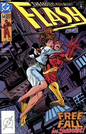Cover for Flash #54 (1991)