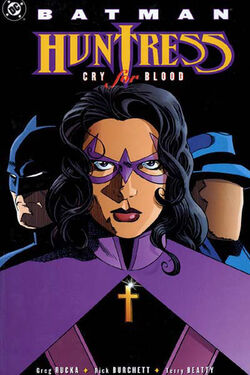 Cover for the Batman/Huntress: Cry for Blood Trade Paperback