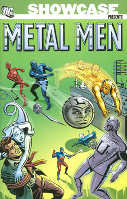 Cover for the Showcase Presents: Metal Men Vol. 1 Trade Paperback