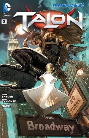 Cover for Talon #3 (2013)