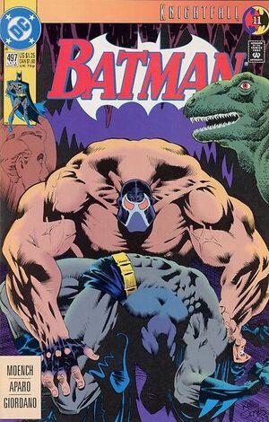Cover for Batman #497 (1993)