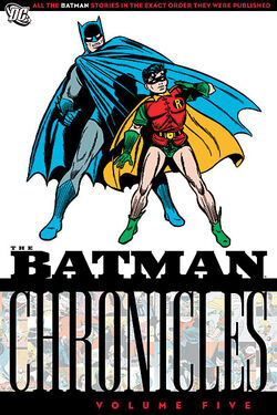 Cover for the Batman Chronicles Vol 5 Trade Paperback