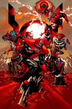 Red Lantern Corps 004