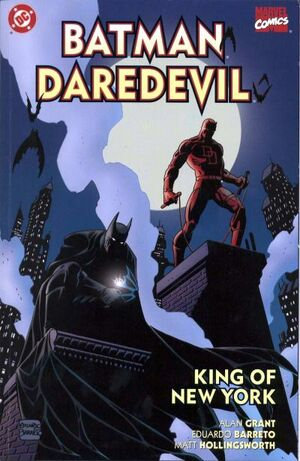 Cover for Batman Daredevil: King of New York #1 (2000)