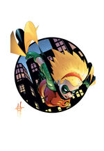 Stephanie Brown becomes Robin
