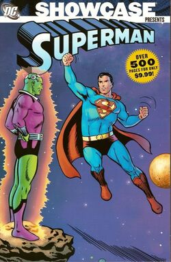Cover for the Showcase Presents: Superman Vol. 1 Trade Paperback