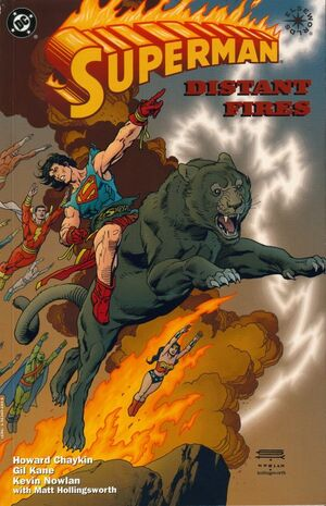 Cover for Superman: Distant Fires #1 (1998)