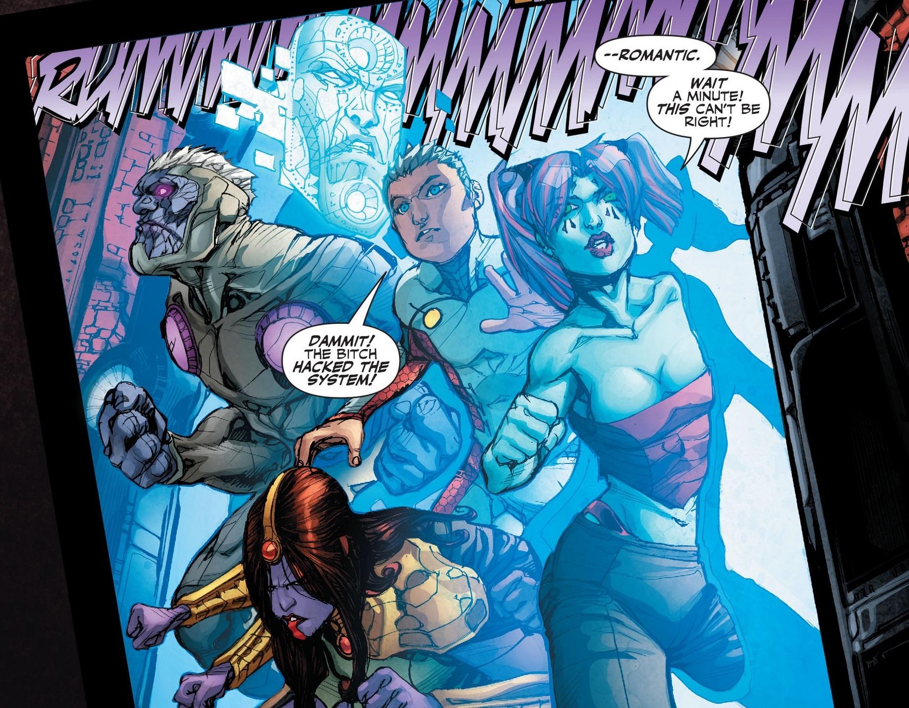 The Five (Justice League 3000)   DC Database   FANDOM ...