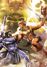 He-Man and the Masters of the Universe Vol 1 6 Textless
