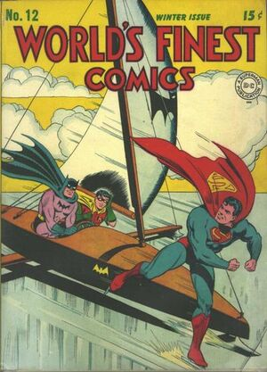 Cover for World's Finest #12 (1943)