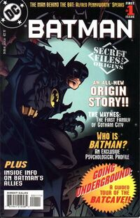 Batman Secret Files and Origins 1