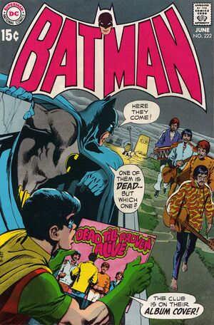 Cover for Batman #222 (1970)