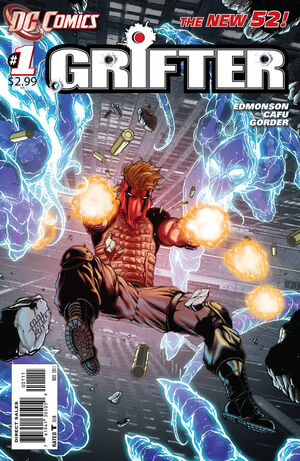 Cover for Grifter #1 (2011)