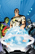 Martian Manhunter and the Stormwatch