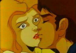 Frank Kisses Rachel DSD