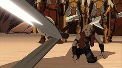 Ander Lifts Sword TTA