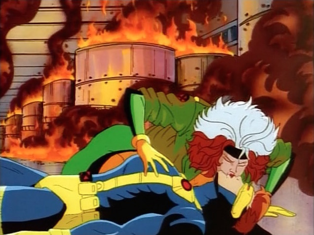 rogue and cyclops relationship