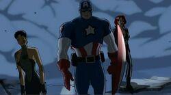 Avengers Leave Ruins UA