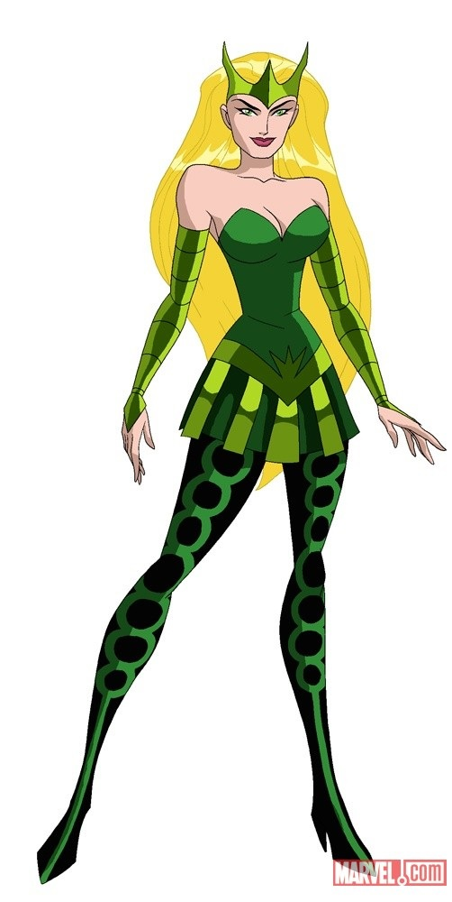 enchantress marvel coloring pages - photo#35