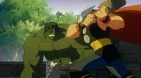 Thor Attacks Hulk HV