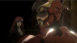 Widow Stops Iron Man IMRT