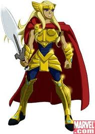 Torunn Asgard Armor NAHT The Next Avengers James And Torunn