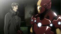 Iron Man Punisher Team Up IMRT