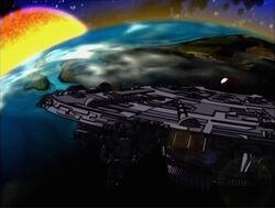 Galactus Enters Zenn-La Orbit