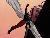 Angel Carries Haley XME