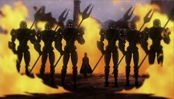 Death Head Guards Spike Wars PH